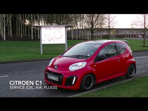 How To - Citroen C1 Service