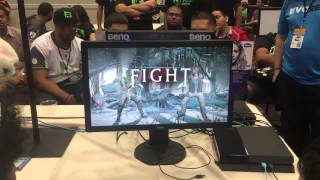EVO 2015 MKX: Milky Situation (Reptile) vs Cheap Eddie (Johnny Cage)