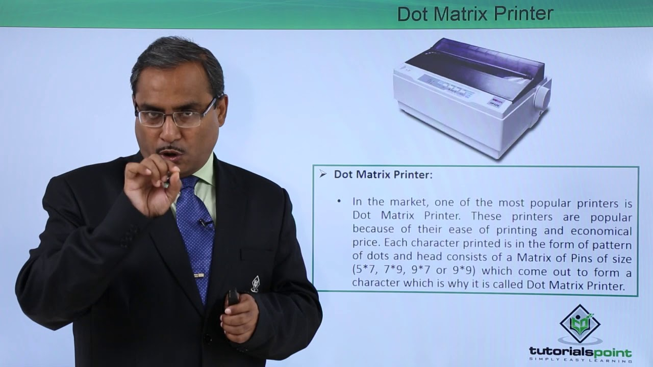 Dot Matrix and Line Printer