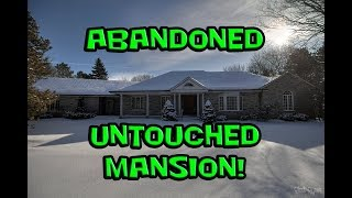 Exploring an Abandoned Untouched Mansion!