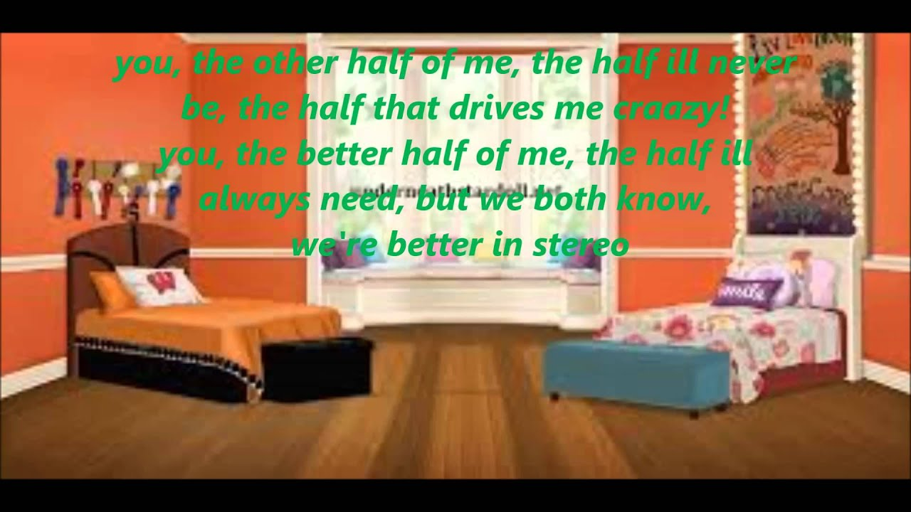 Liv U0026 Maddie Better In Stereo Full Song Lyrics