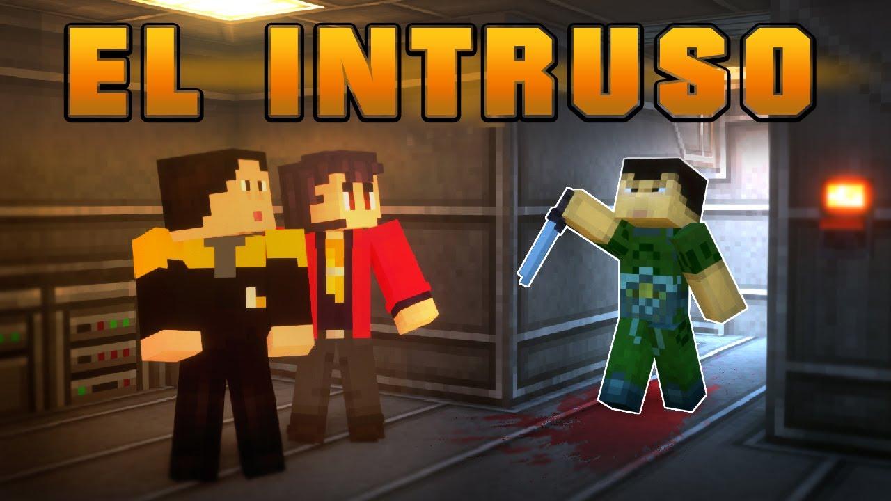 EL INTRUSO | Cortometraje Minecraft