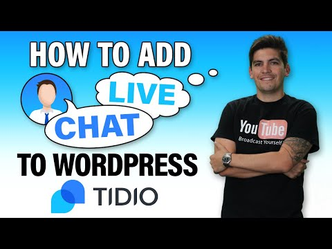 How To Add LIVE CHAT And CHATBOT To Wordpress [SUPER CLEAN]
