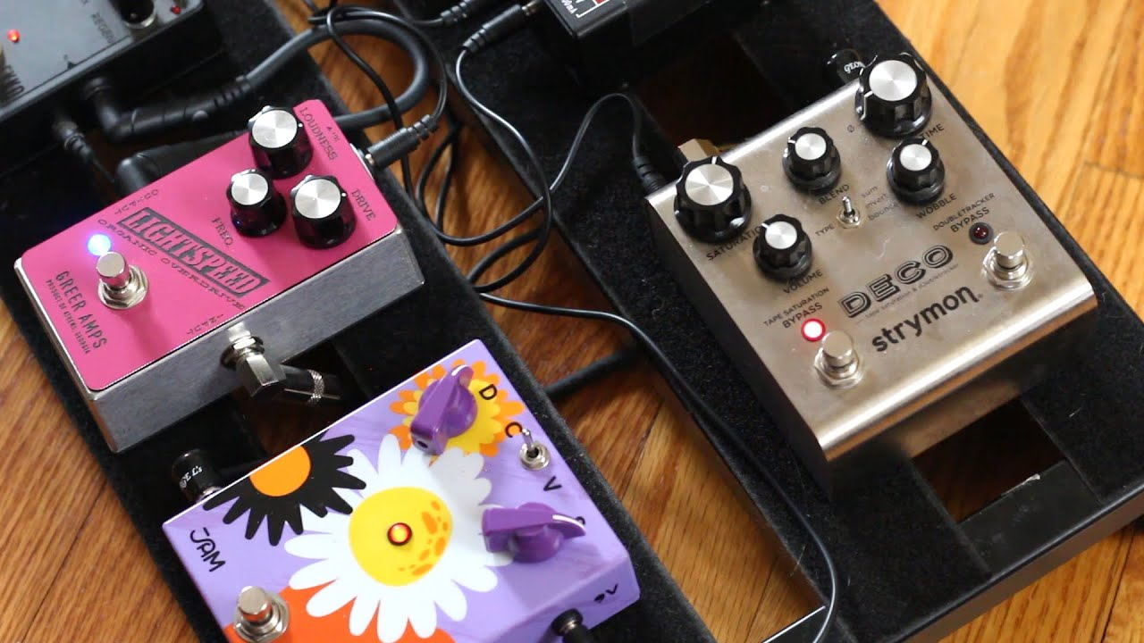 strymon deco vs greer lightspeed my favorite transparent overdrive pedals shoot it out youtube. Black Bedroom Furniture Sets. Home Design Ideas