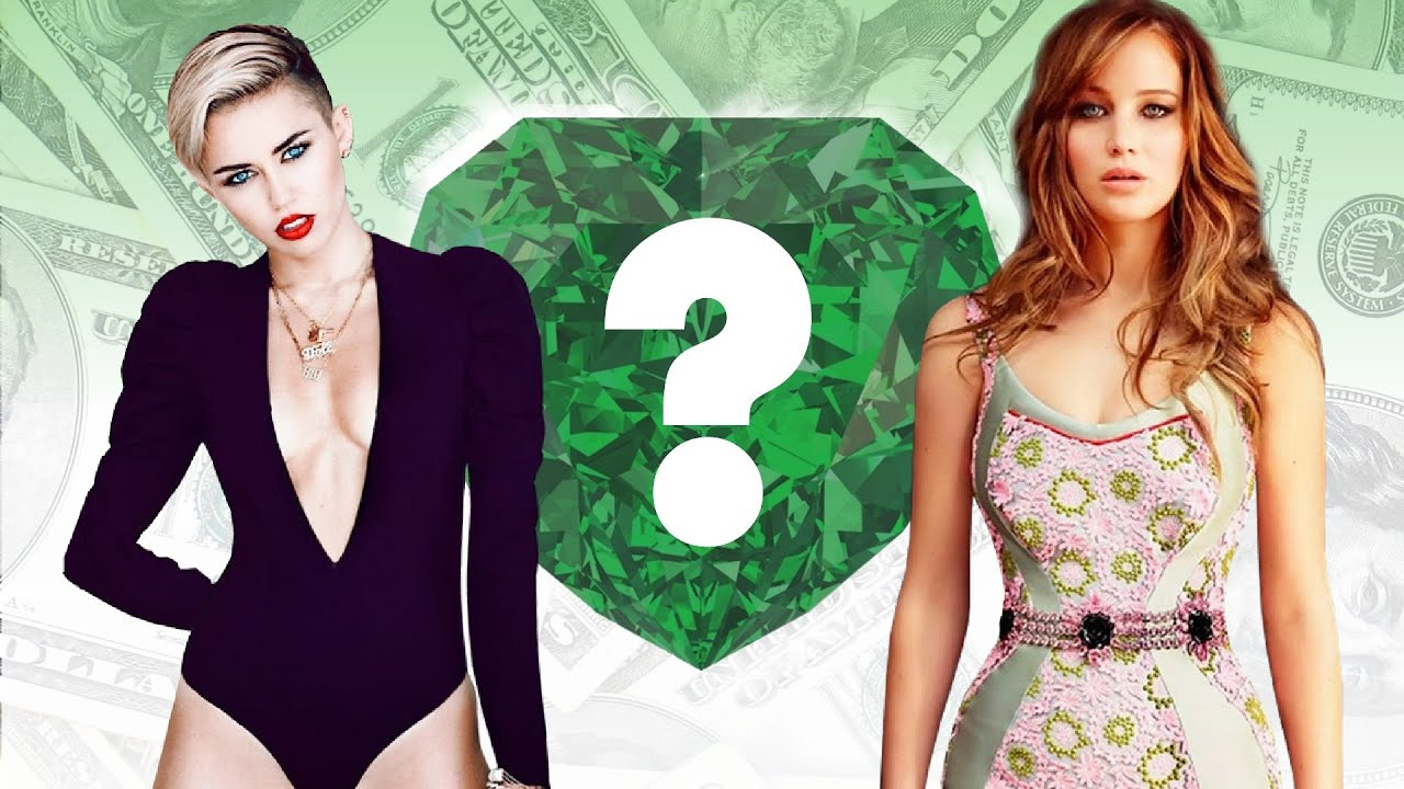 WHO'S RICHER? - Miley Cyrus or Jennifer Lawrence? - Net ...