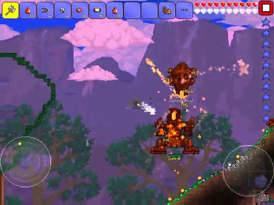 terraria how to build a hammer