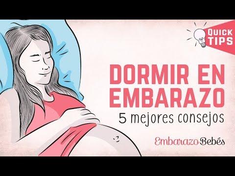 ¿Cómo dormir en el #embarazo? Los 5 Mejores consejos