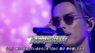 ベストヒット歌謡祭での三代目 J Soul Brothers 出演です。