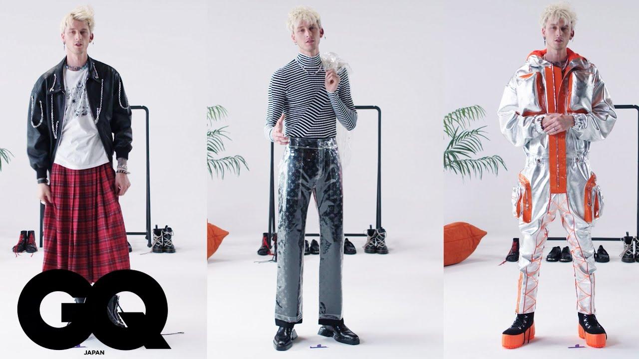 マシン・ガン・ケリーが私服で作る、シチュエーション別3コーディネート | GQ JAPAN