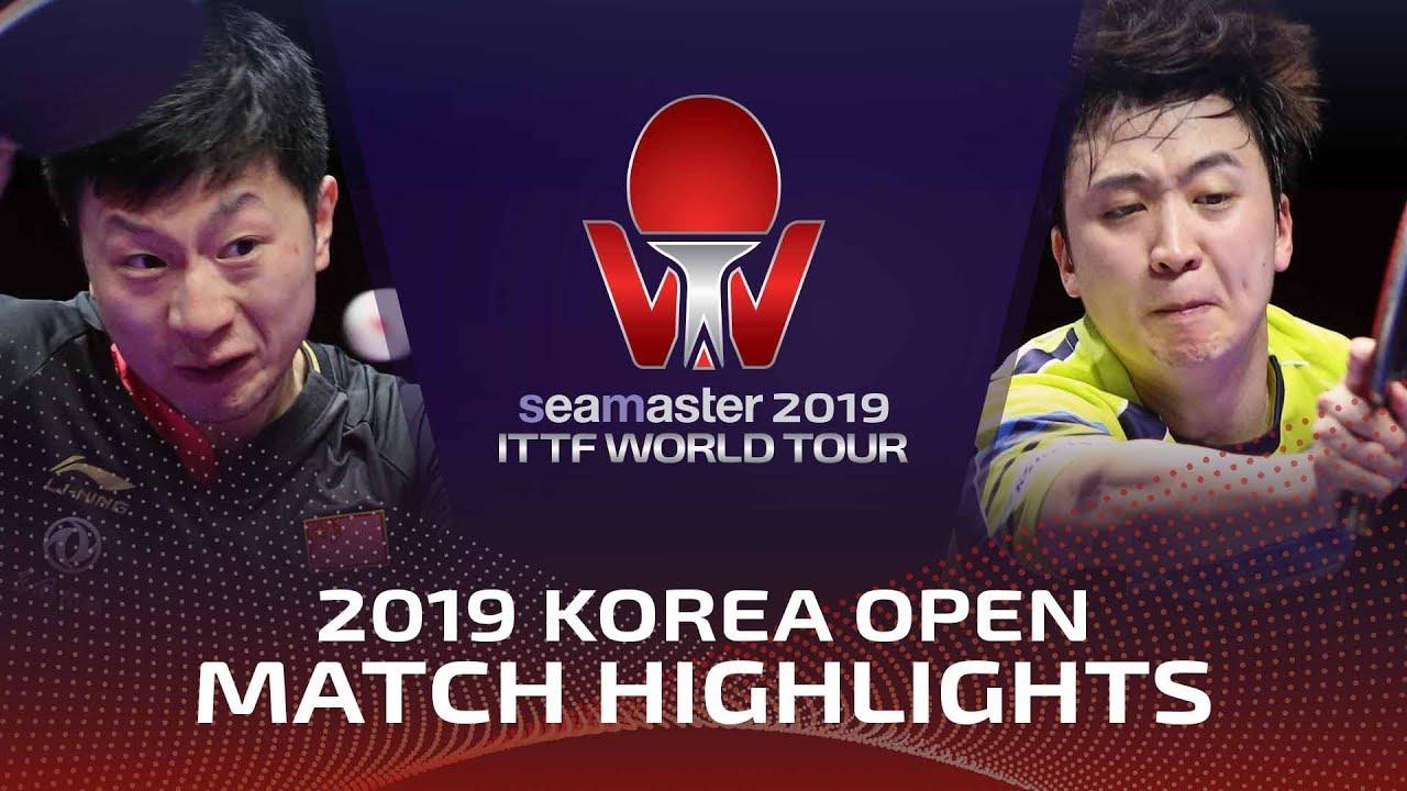 Ma Long vs Jeoung Youngsik | 2019 ITTF Korea Open Highlights (1/2)