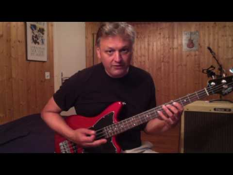 How to Play Mama Tried on Bass - The Grateful Dead - Merle Haggard- Mark66