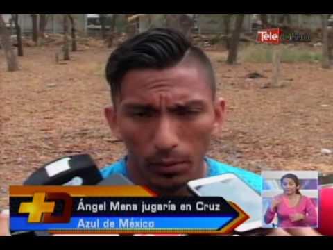 Angel Mena jugaría en Cruz Azul de México