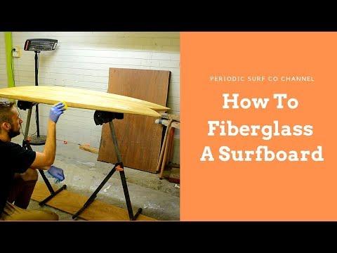 How To Fiberglass a Surfboard (Overview) | DIY Surfboard kits