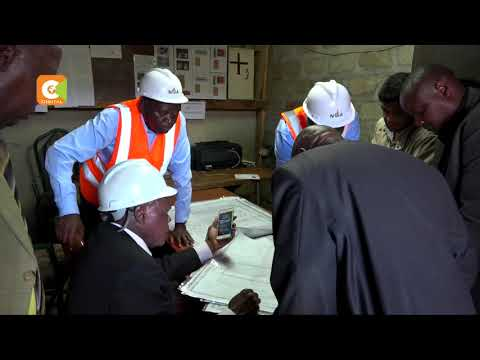 National construction authority suspends construction along Peponi road