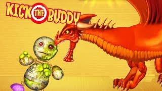 Dragon VS Buddy | Kick the Buddy Game #5 | Android Games 2018 Gameplay | Friction Games