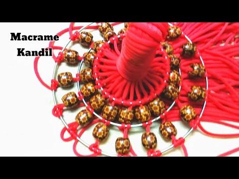 Macrame kandil for Diwali l Kandil Making | Diwali Decoration Ideas l Diwali kandil 2018