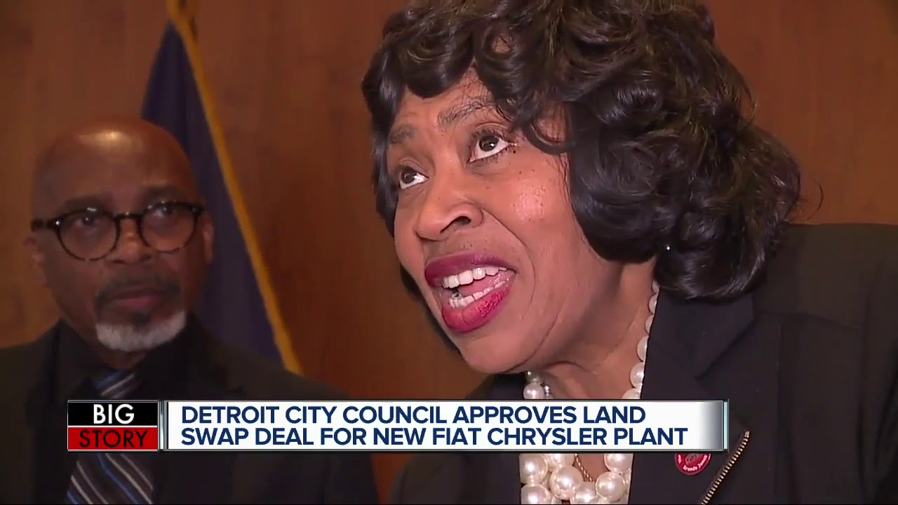 Detroit City Council approves land deal for Fiat Chrysler plant