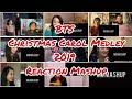 BTS's Christmas Carol Medley 2019 SBS Gayo Daejeon_Music Festival   Reaction Mashup