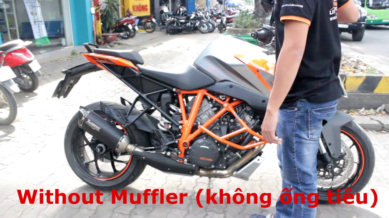 Ktm Super Duke R Exhaust