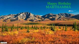 Marthamma   Nature Birthday