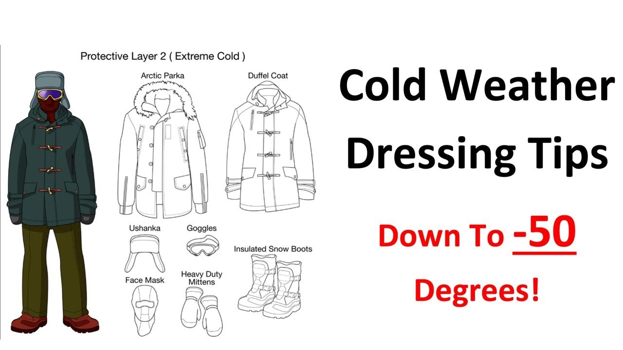 391ef9a7d Cold Weather Dressing Tips - Base Layer Insulating Layers - Extreme Arctic  Clothing - YouTube