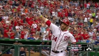 Harper homers in return from disabled list