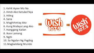 Wish FM 107 5 Playlist 1