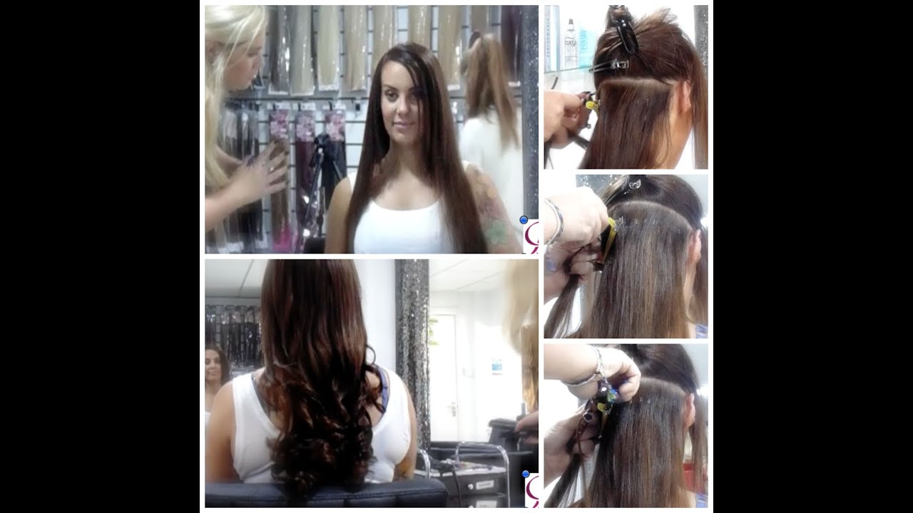 Mini Link Hair By Foxy Hair Extensions Youtube
