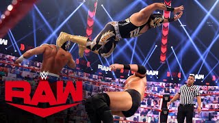 Lucha House Party vs. MACE & T-BAR: Raw, May 31, 2021