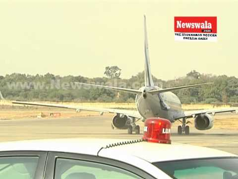 President of India Pranab Mukherjee left for Delhi from Begumpet Airport Hyderabad
