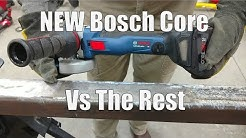 "Bosch GWS18V-45C 4.5"" Angle Grinder vs DEWALT FlexVolt vs Milwaukee FUEL vs Hitachi"