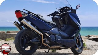 Harley Davidson sound on yamaha T-Max 500