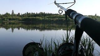 АГА Теперь Я ВСЕГДА С УЛОВОМ ЧЁТКИЕ ПОКЛЁВКИ Ночная рыбалка ФИДЕРОМ