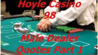 Hoyle Casino 98 - Male Blackjack Dealer Quotes part 1