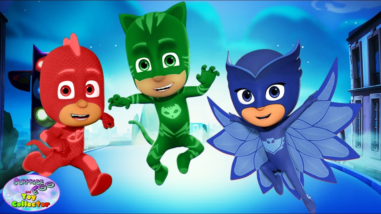 High Quality PJ Masks Transforms Catboy Owlette Gekko Color Swap Episode Surprise Egg  And Toy Collector SETC   YouTube