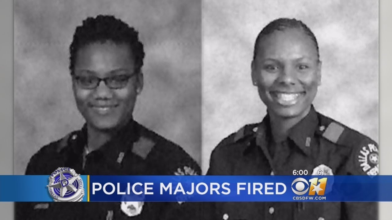 Redirecting: 2 BIack Dallas Police Majors Fired For What?