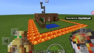 Как построить дом из земли в майнкрафт РЕ #2 Video