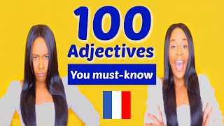 French vocabulary: 100 French Adjectives you must-know (The opposites)