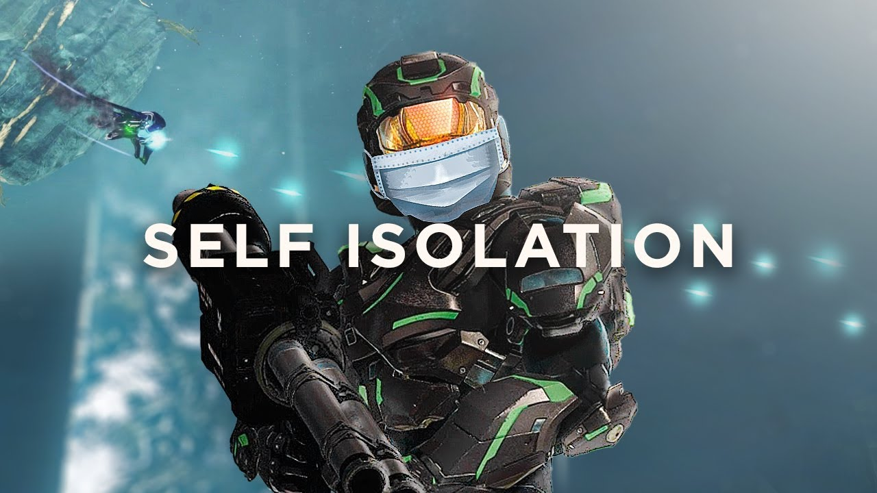 Self Isolating out of the map on Zenith (Halo 2 Anniversary)
