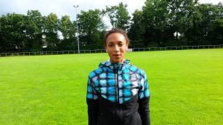 Wahl zum Sport-Stipendiat des Jahres 2014: Malaika Mihambo