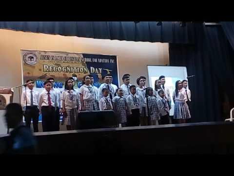 Jesus Is Lord Christian School (Malate) Batch 2017 Graduation Song