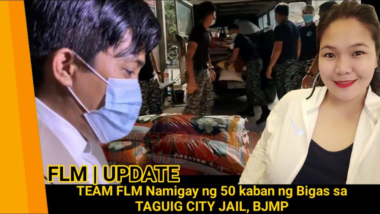 FLM   UPDATE, TEAM FLM Namigay ng 50 kaban ng Bigas sa TAGUIG CITY JAIL, BJMP