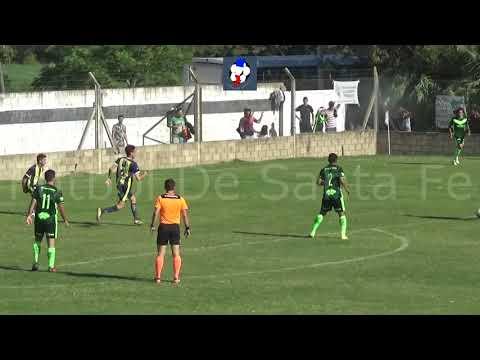 Gol de Carlos Fragata (parcial El Quillá 3 -  Ferro DHO 1)