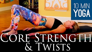 Core Strength & Twists: 10 Minute Yoga Class - Five Parks Yoga