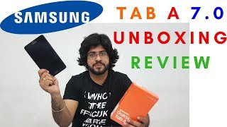 SAMSUNG TAB A 7.0 (2018)  UNBOXING and REVIEW