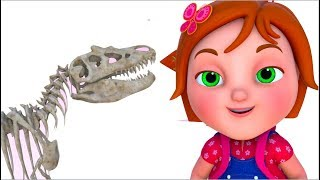 TooToo Girl - Dino Dilemma | Cartoon Animation | Funny Comedy Series | Videosgyan Kids Shows