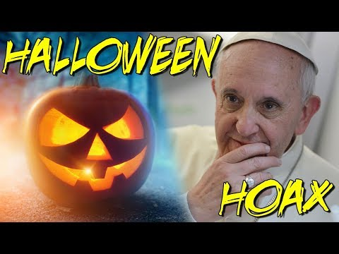 POPE'S HALLOWEEN HOAX is Coming OCT. 31!!! - You Must Know This!!