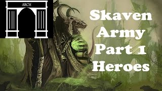 skaven heroesPossible Total War:Warhammer Factions Skaven Heroes