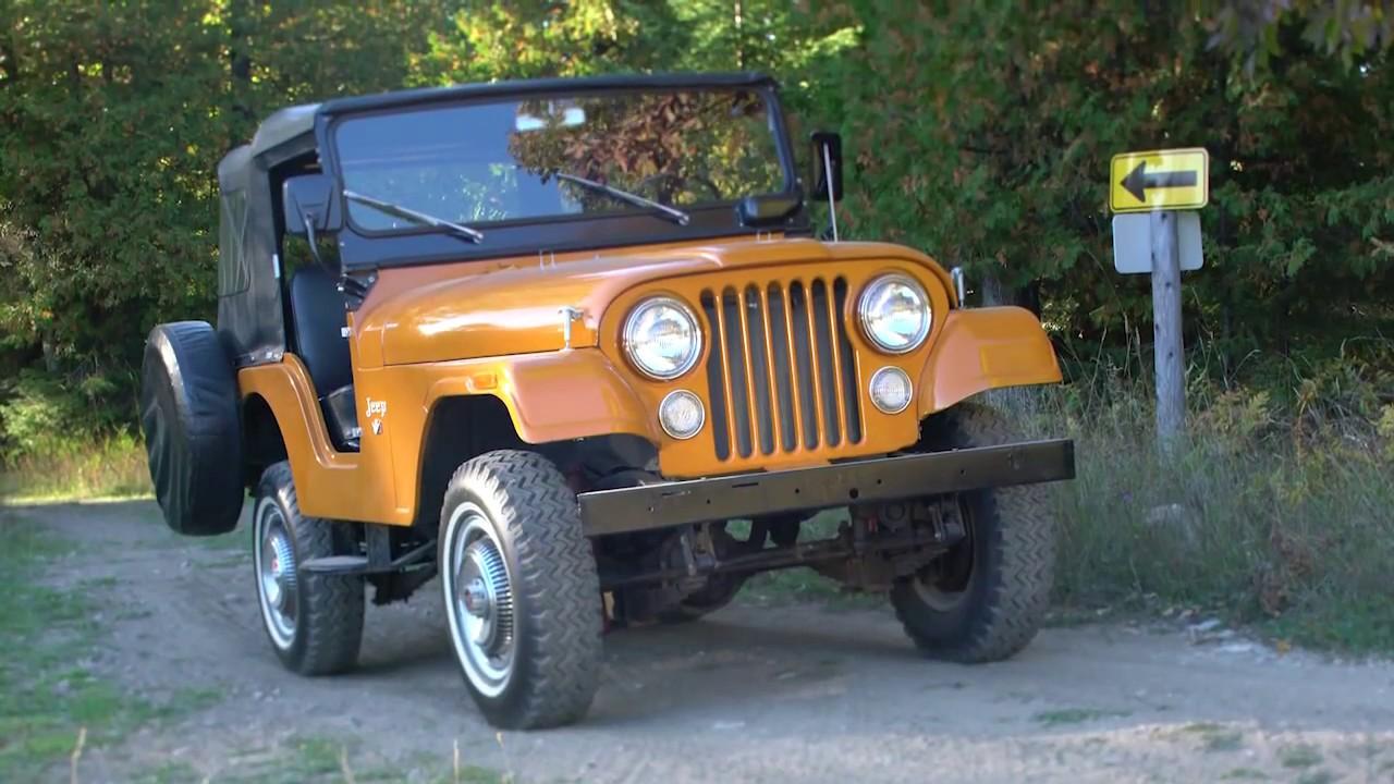 Jeep 75th Anniversary  1973 Jeep Cj5