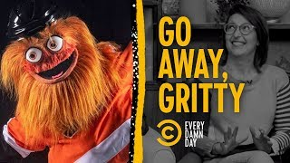 Gritty: The Flyers' Mascot Nobody's Been Waiting For
